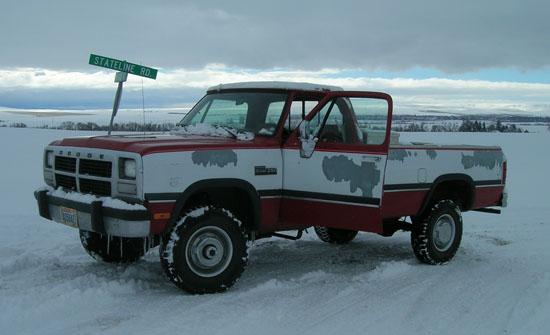 1992 Dodge Cummins Diesel Truck