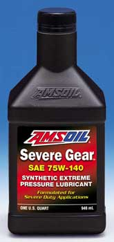 Amsoil Severe Gear Lube 75W-140 (SVO)