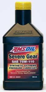 Amsoil Severe Gear Lube 75W-110 SVT