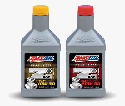 Amsoil Z-ROD Motor Oils
