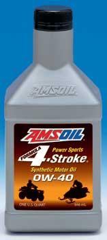 Amsoil 4-Stroke 0W-40 Motor Oil