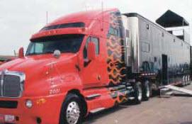 Amsoil Team Transporter Truck