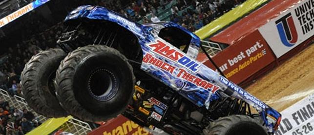 Amsoil Monster Truck Driver Jon Zimmer