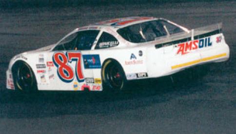 Amsoil Race Driver Burney Lamar