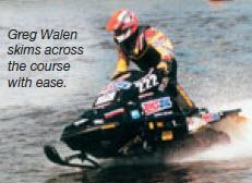 Amsoil Racer Greg Walen
