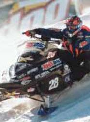 Amsoil Racer Justin Tate