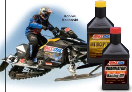 Amsoil Racer Robbie Malinoski