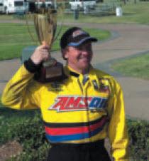 Amsoil Racer Terry Rinkner