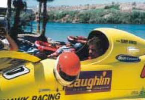 Amsoil Racer Rinker Loses Race